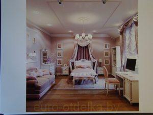 Ремонт комнаты девочки по дизайн-проекту фото